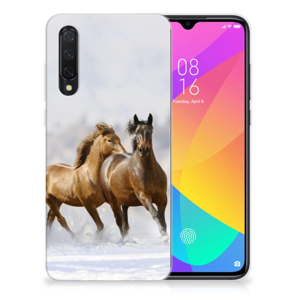Xiaomi Mi 9 Lite TPU Hoesje Paarden