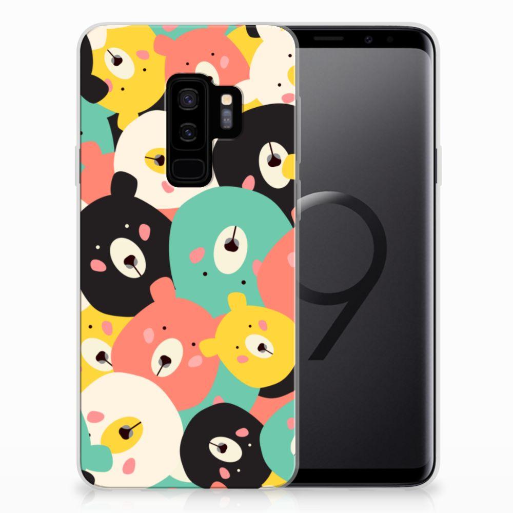 Samsung Galaxy S9 Plus Telefoonhoesje met Naam Bears