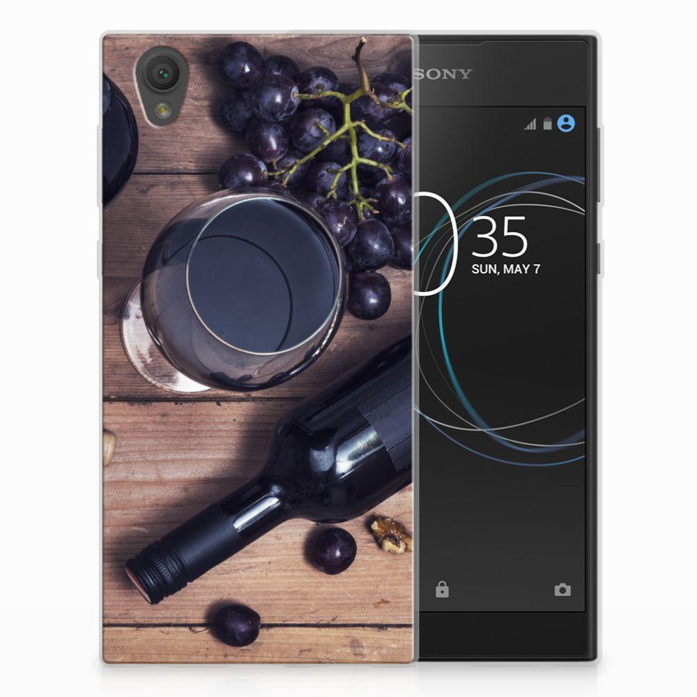 Sony Xperia L1 Siliconen Case Wijn