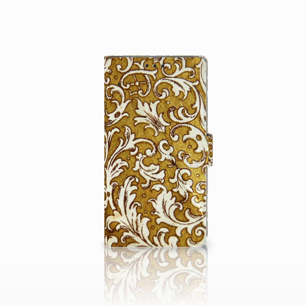 Wallet Case Sony Xperia XA2 Ultra Barok Goud