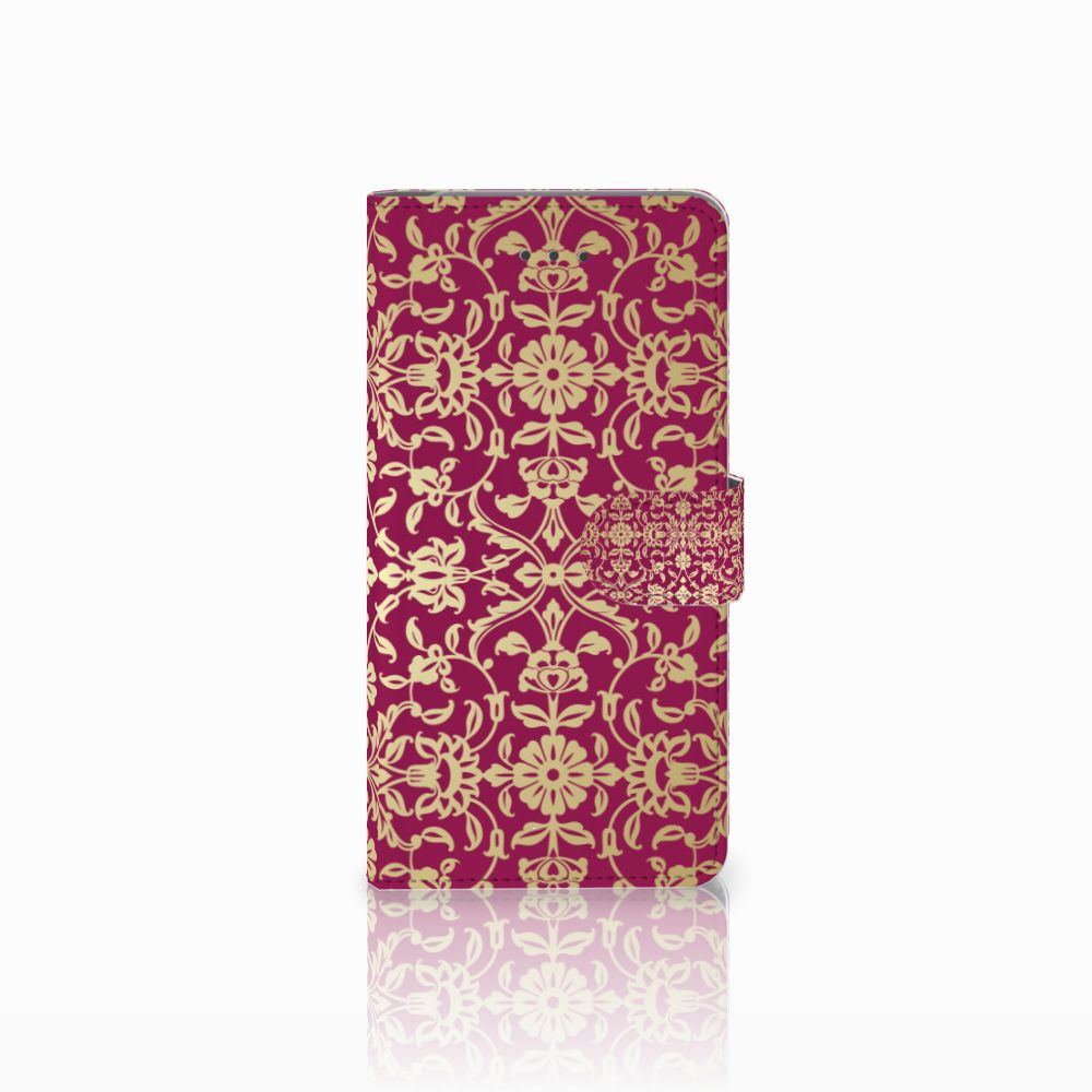 Wallet Case Samsung Galaxy J7 (2018) Barok Pink