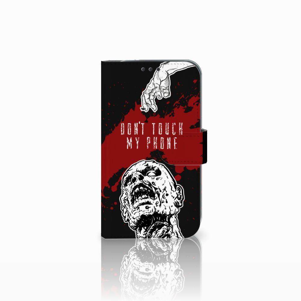 Samsung Galaxy Xcover 4 Boekhoesje Design Zombie Blood