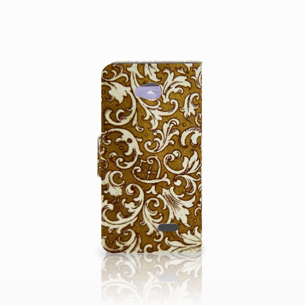 Wallet Case LG L70 Barok Goud