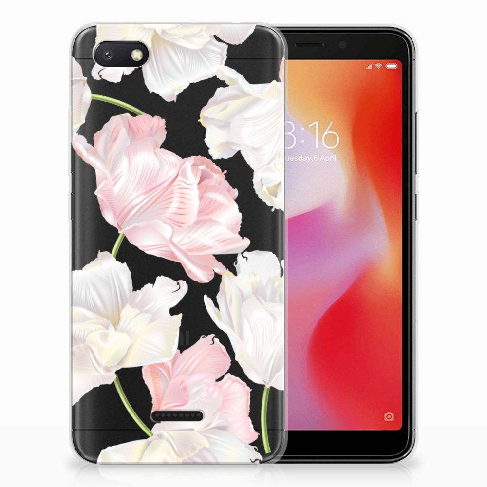 Xiaomi Redmi 6A TPU Hoesje Design Lovely Flowers