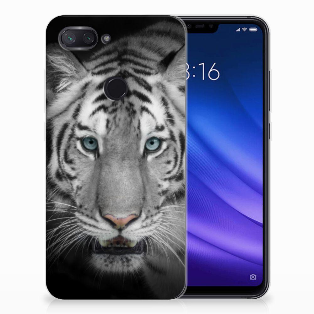 Xiaomi Mi 8 Lite TPU Hoesje Tijger