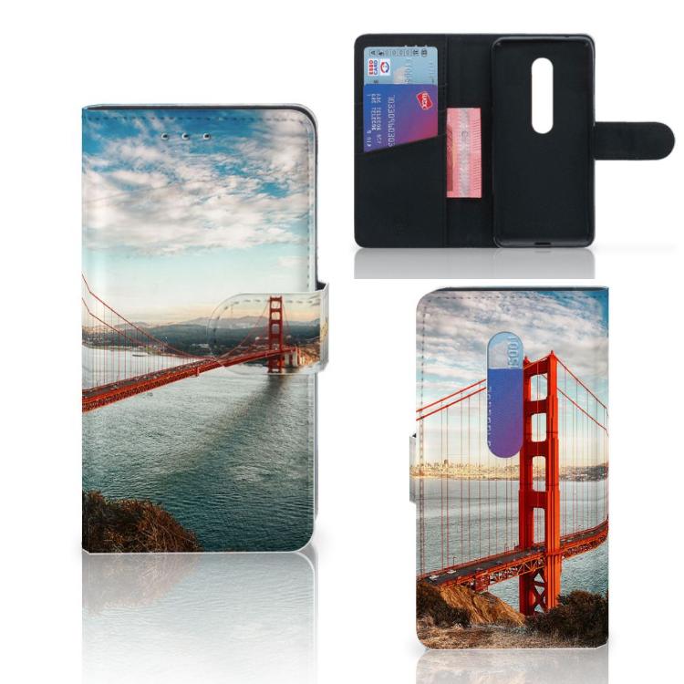 Motorola Moto G 3e Generatie Flip Cover Golden Gate Bridge