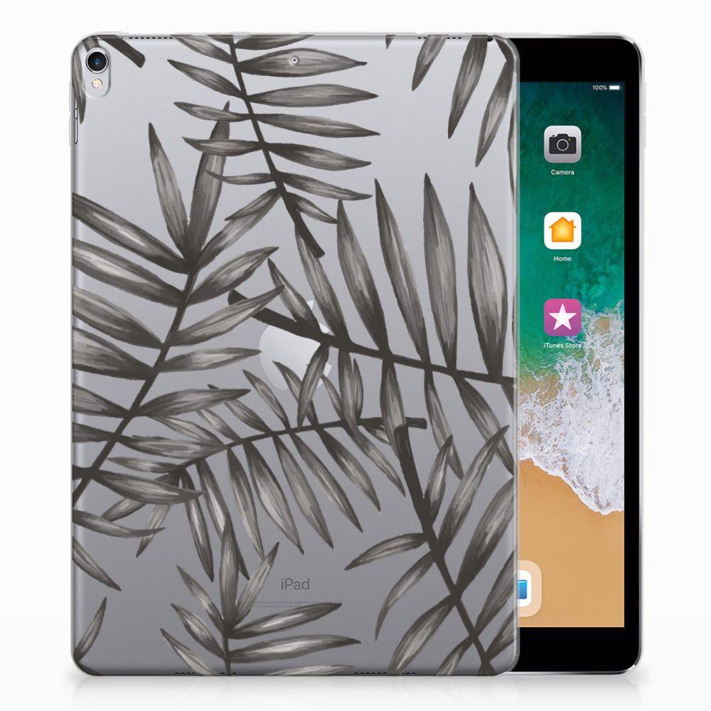 Apple iPad Pro 10.5 Uniek Tablethoesje Leaves Grey