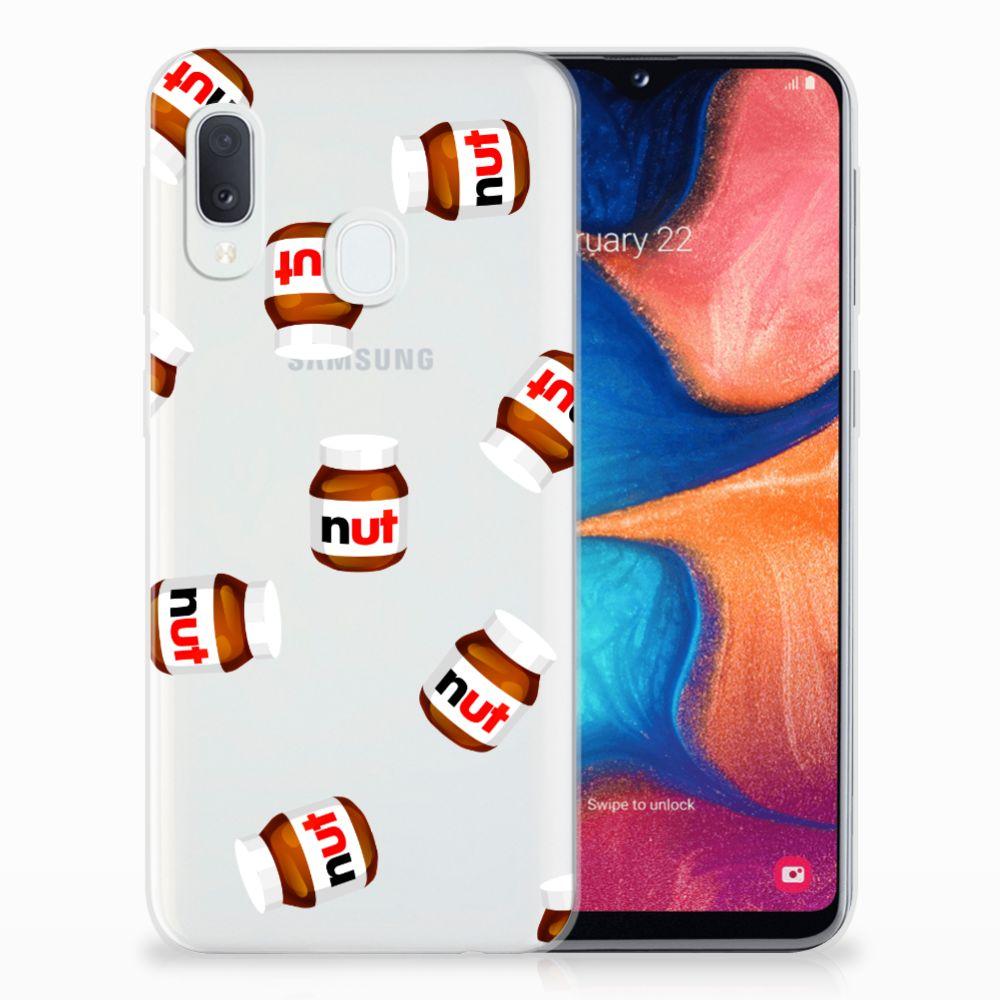 Samsung Galaxy A20e Siliconen Case Nut Jar