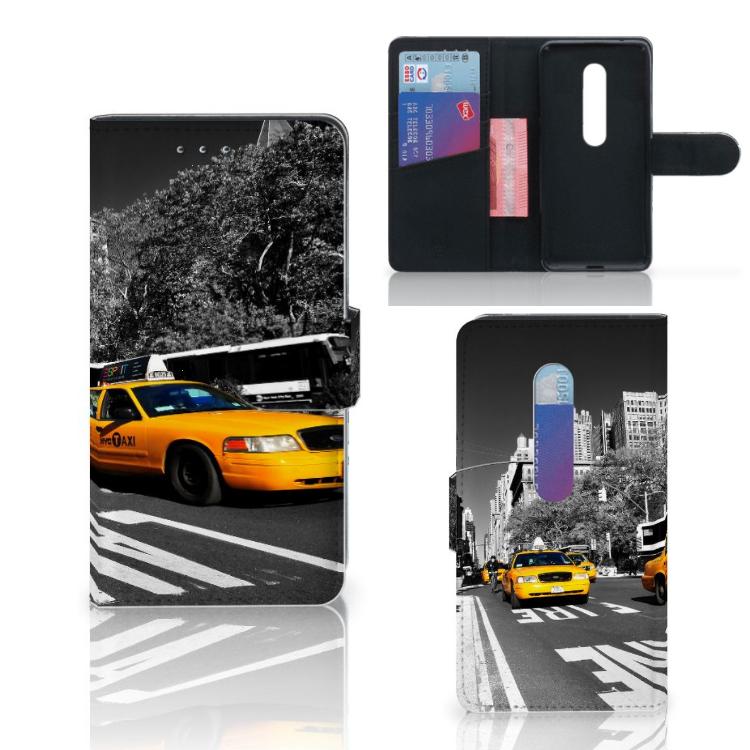 Motorola Moto G 3e Generatie Flip Cover New York Taxi