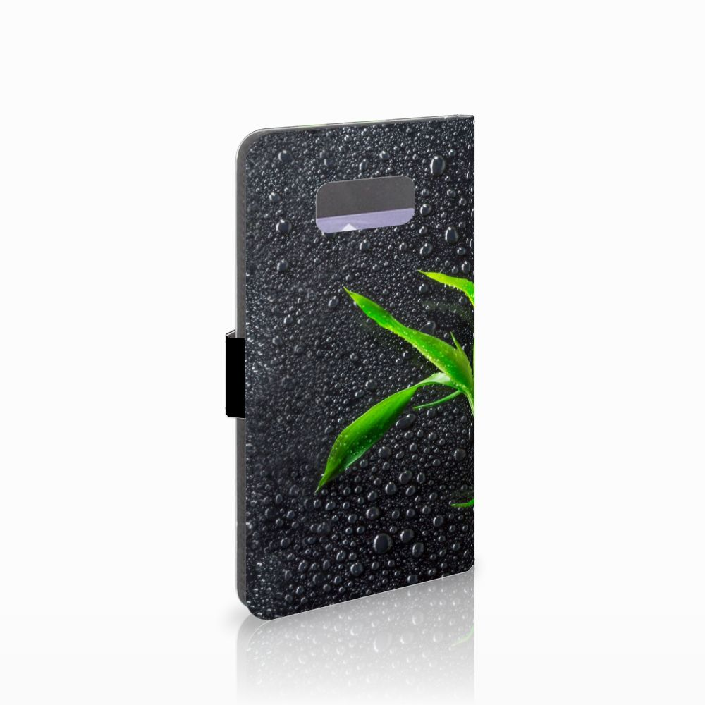 samsung galaxy s8 plus boekhoesje design orchidee. Black Bedroom Furniture Sets. Home Design Ideas