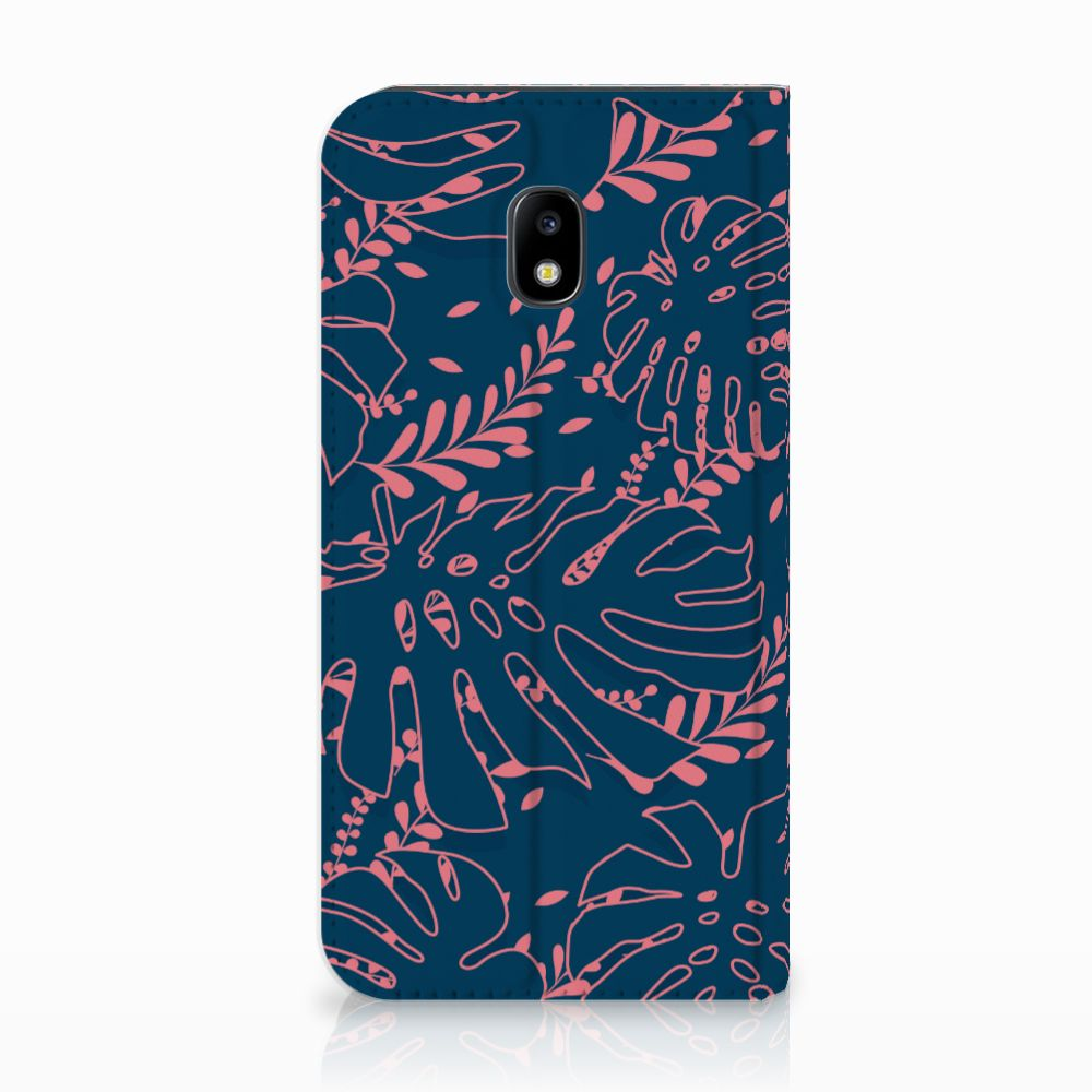 Samsung Galaxy J3 2017 Standcase Hoesje Design Palm Leaves