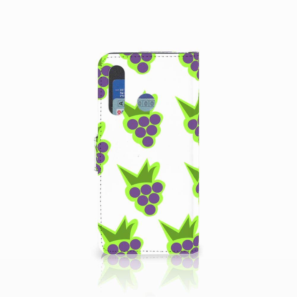 Huawei Nova 4 Book Cover Druiven