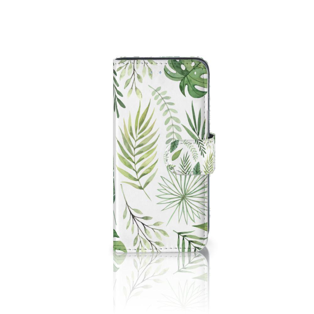 Samsung Galaxy A5 2016 Uniek Boekhoesje Leaves