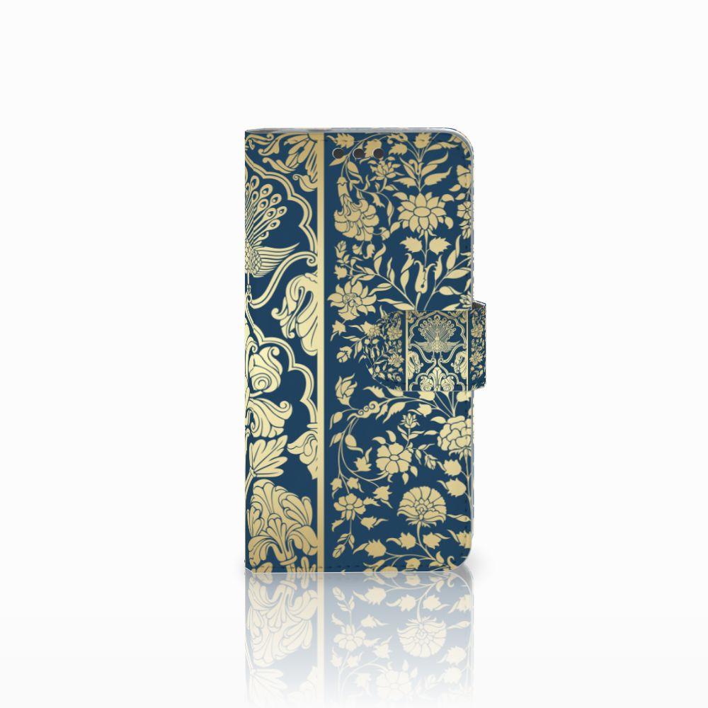 Microsoft Lumia 650 Boekhoesje Golden Flowers