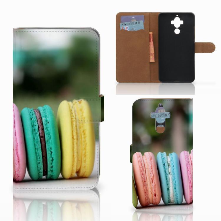 Huawei Mate 9 Book Cover Macarons