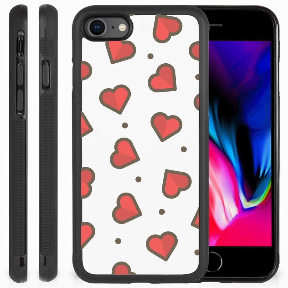Apple iPhone 7 | 8 Bumper Case Hearts
