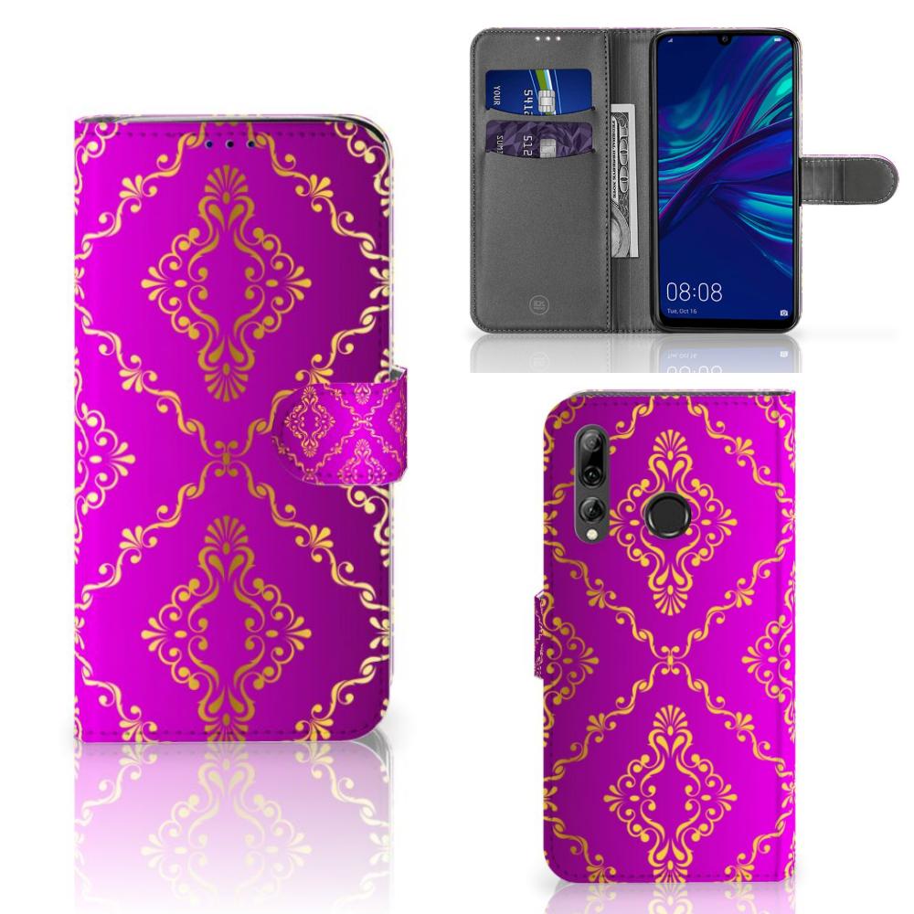 Wallet Case Huawei P Smart 2019 Barok Roze
