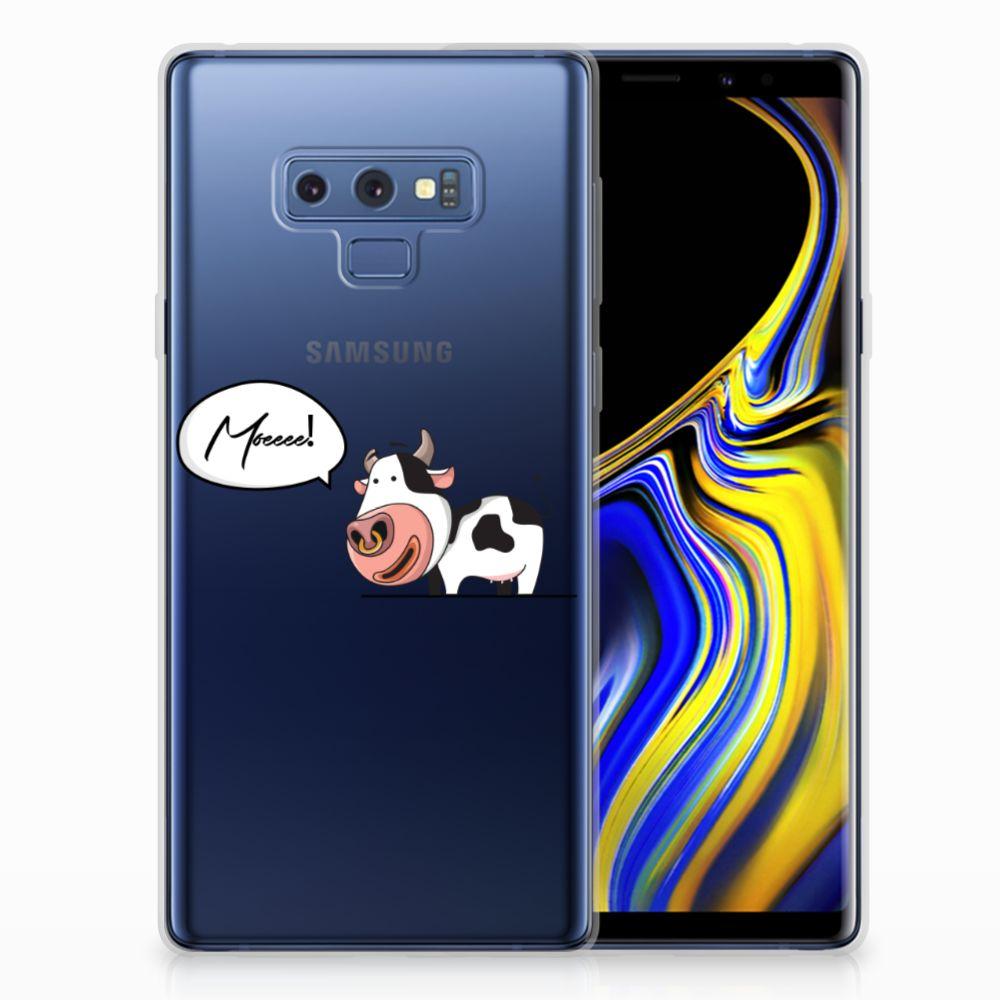 Samsung Galaxy Note 9 Telefoonhoesje met Naam Cow