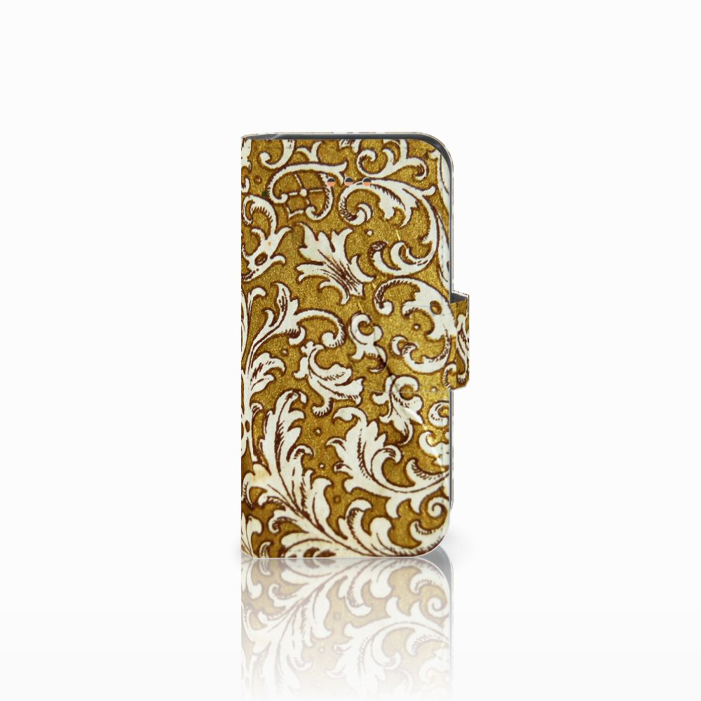 Apple iPhone 5C Boekhoesje Design Barok Goud
