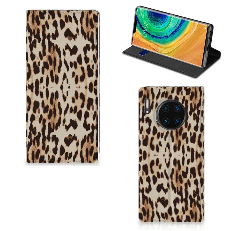 Huawei Mate 30 Pro Hoesje maken Leopard