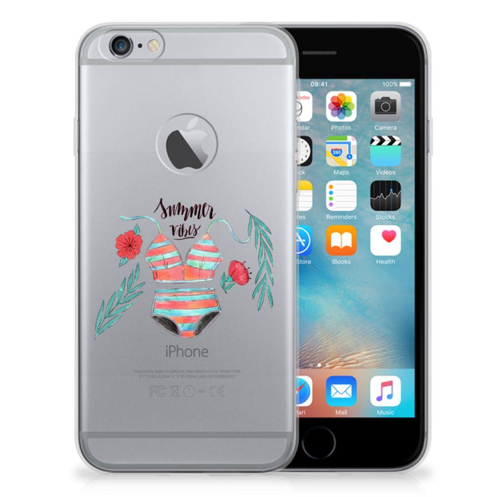 Apple iPhone 6 Plus | 6s Plus Telefoonhoesje met Naam Boho Summer
