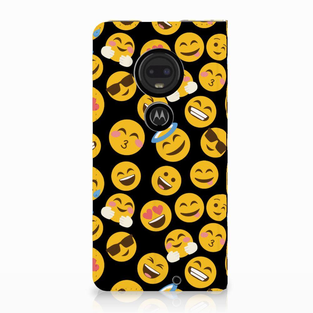 Motorola Moto G7 | G7 Plus Standcase Hoesje Design Emoji