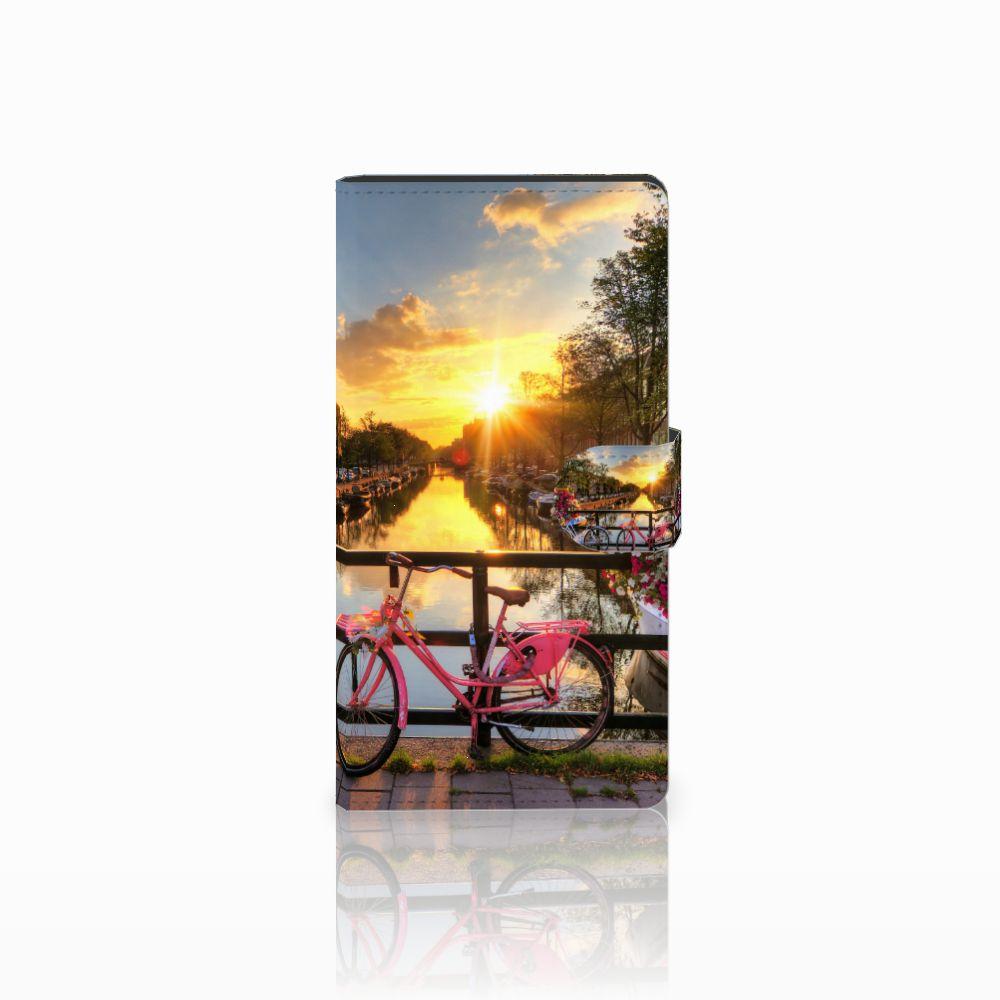 Sony Xperia C4 Uniek Boekhoesje Amsterdamse Grachten