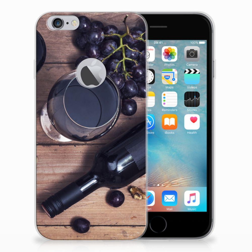 Apple iPhone 6 Plus   6s Plus Siliconen Case Wijn