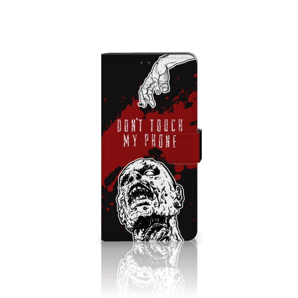 Motorola Moto Z Play Boekhoesje Design Zombie Blood
