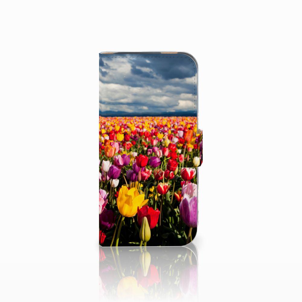 HTC One M8 Uniek Boekhoesje Tulpen