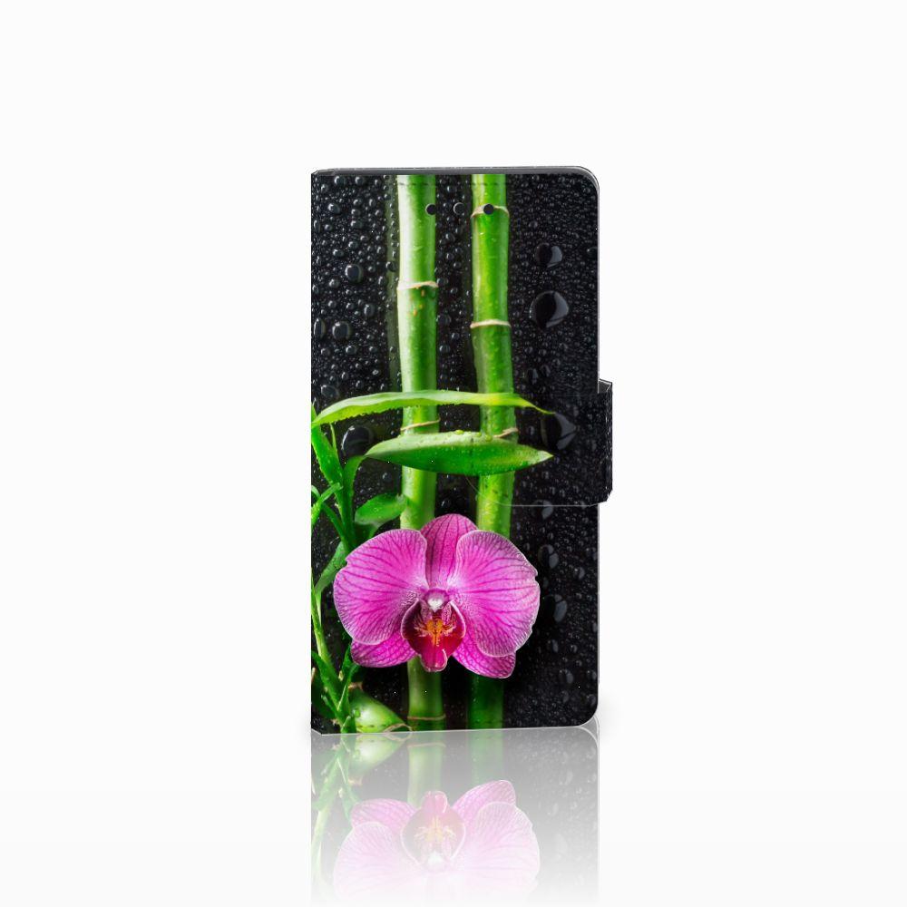 Sony Xperia Z5 Compact Boekhoesje Design Orchidee