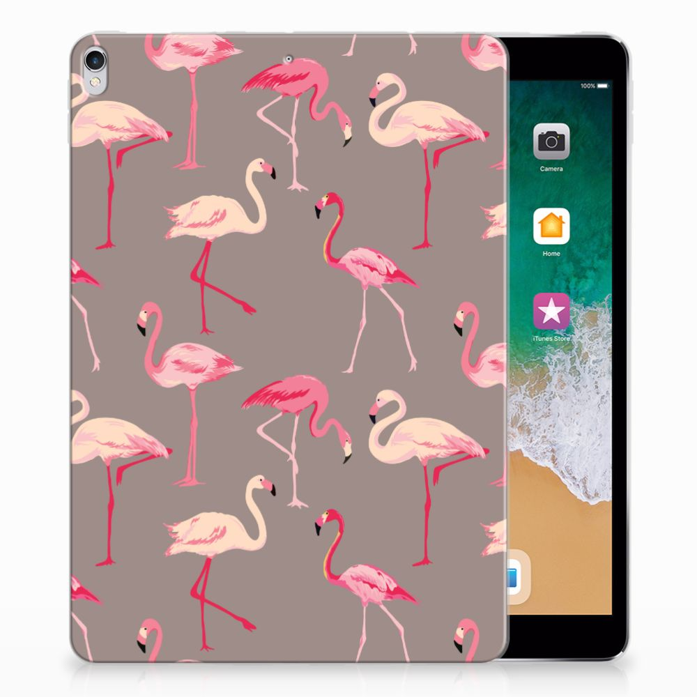 Apple iPad Pro 10.5 Uniek Tablethoesje Flamingo