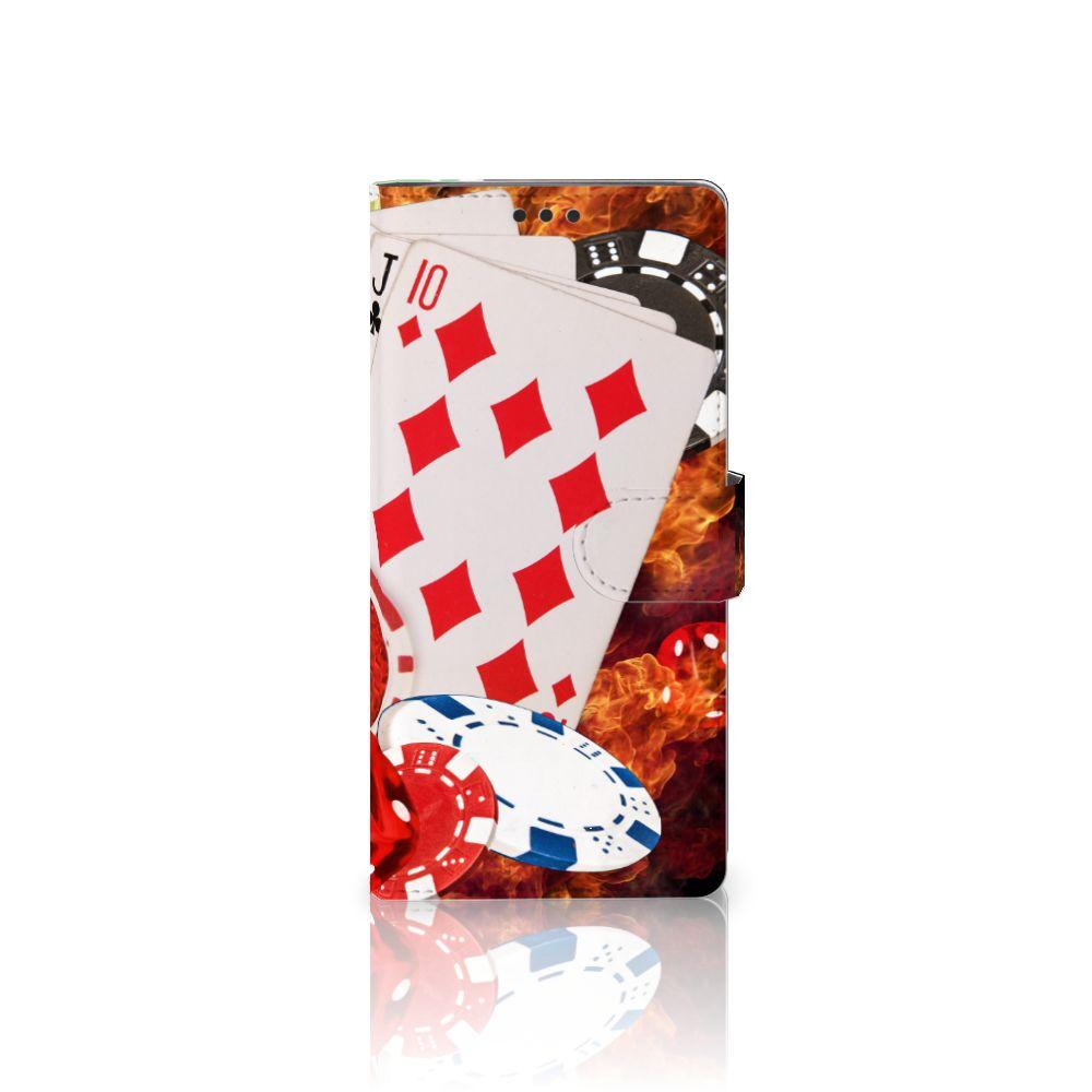Sony Xperia XA Ultra Uniek Boekhoesje Casino