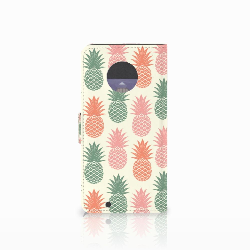 Motorola Moto G6 Book Cover Ananas