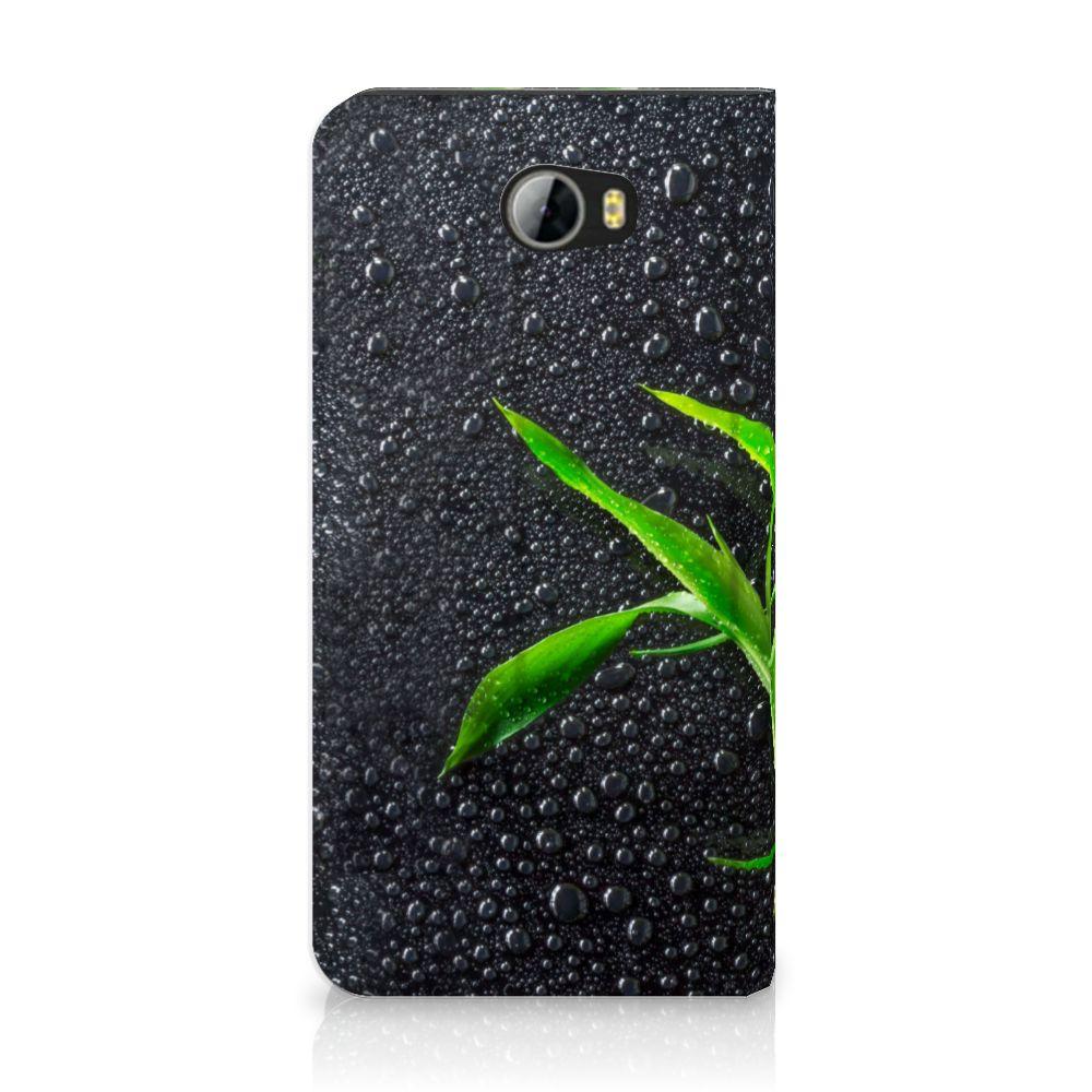Huawei Y5 2   Y6 Compact Standcase Hoesje Design Orchidee