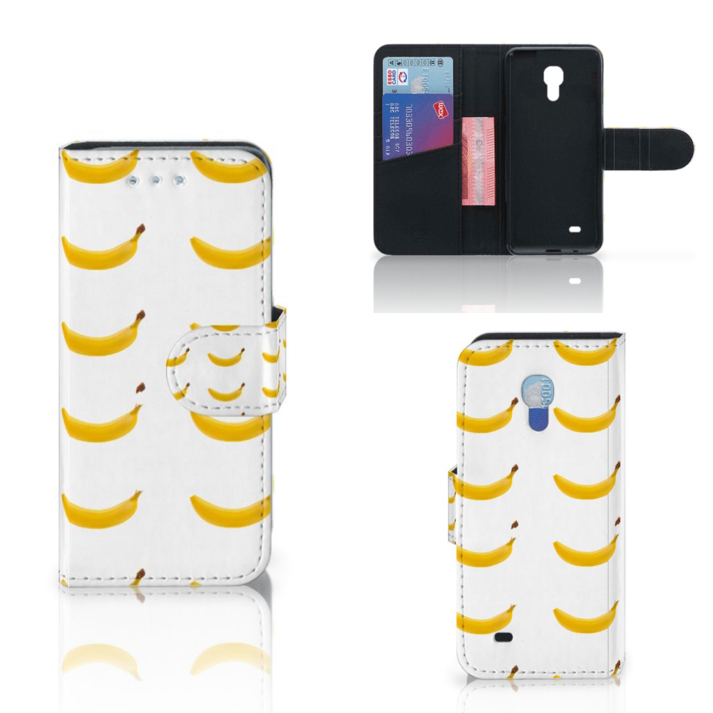 Samsung Galaxy S4 Mini i9190 Book Cover Banana