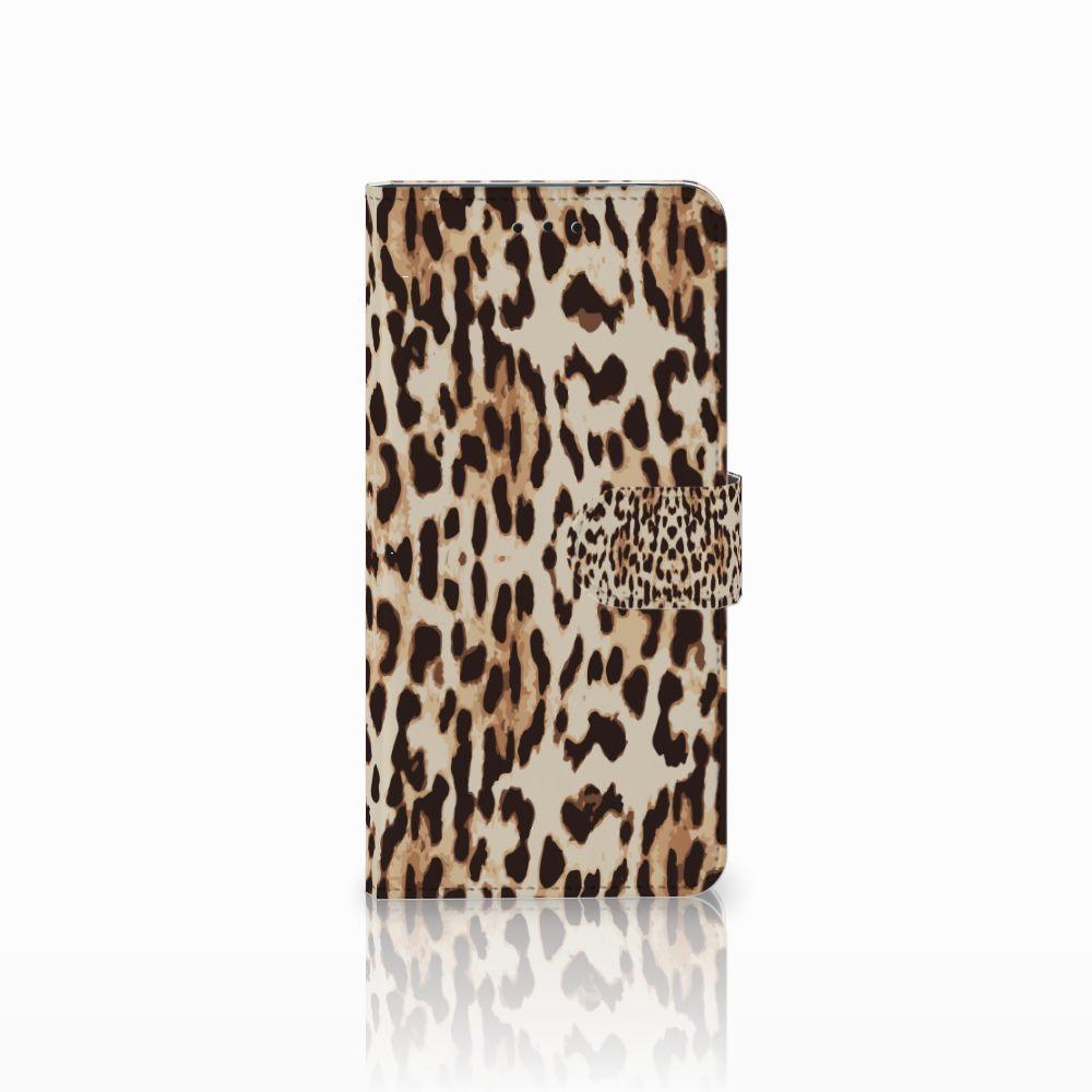 Motorola Moto E5 Uniek Boekhoesje Leopard
