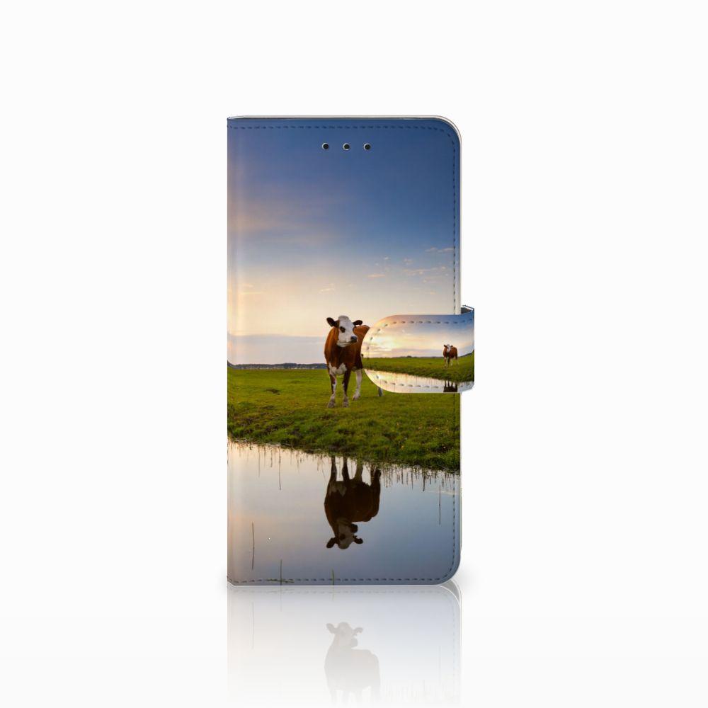 Motorola Moto E5 Plus Boekhoesje Design Koe