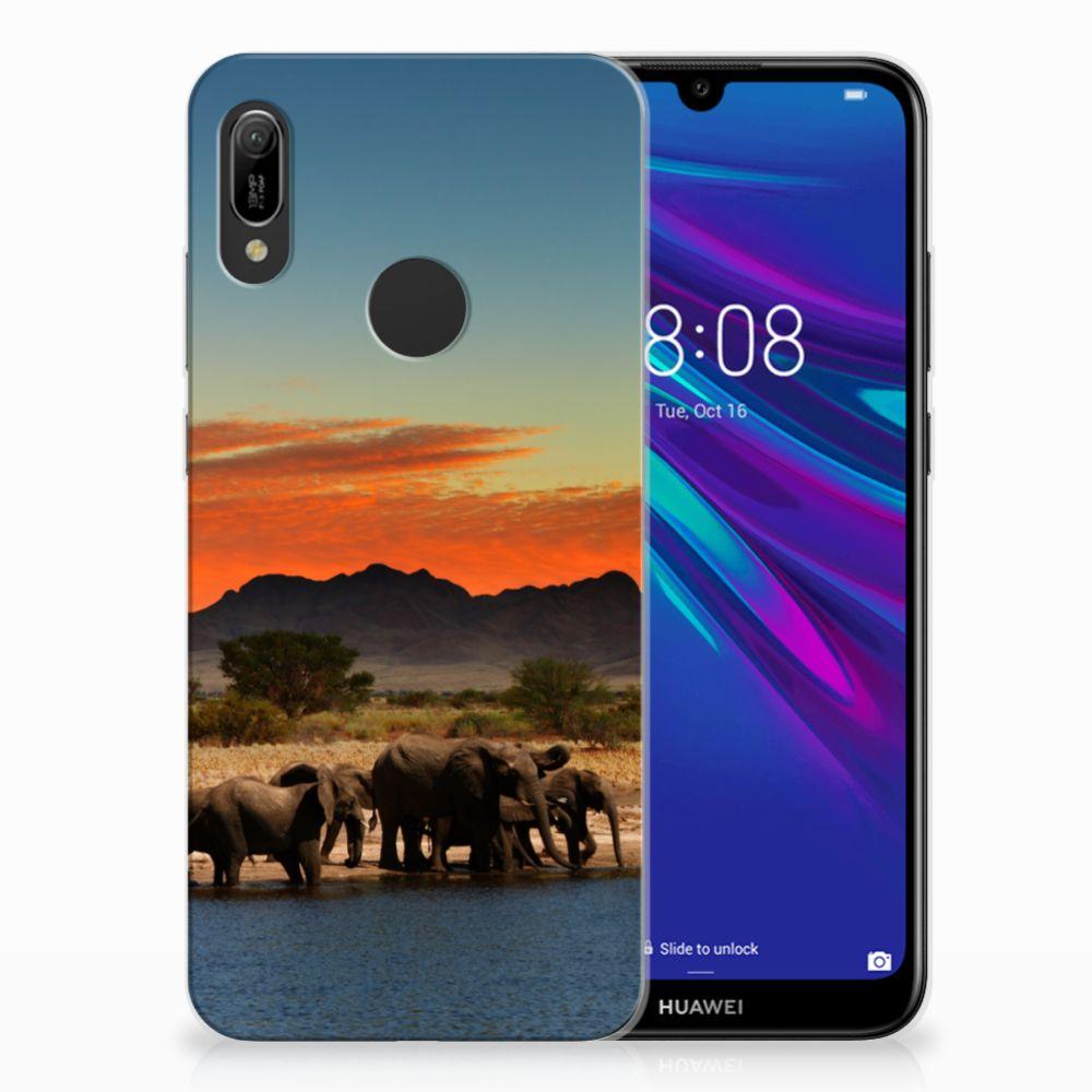 Huawei Y6 2019 | Y6 Pro 2019 Leuk Hoesje Olifanten