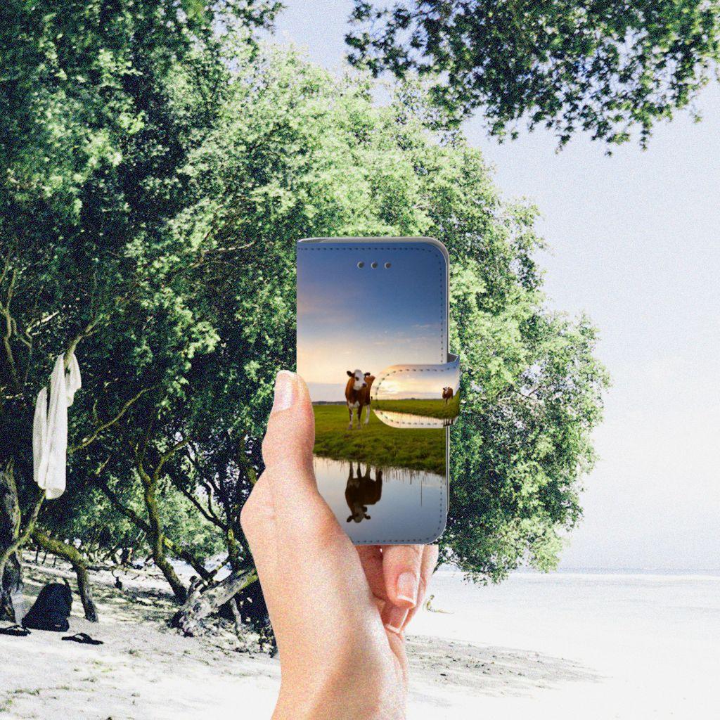 Apple iPod Touch 5 | 6 | iPod (2019) Telefoonhoesje met Pasjes Koe