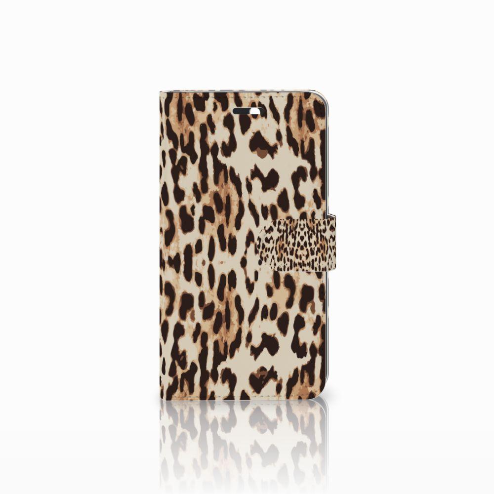 Huawei Y6 II | Honor 5A Uniek Boekhoesje Leopard
