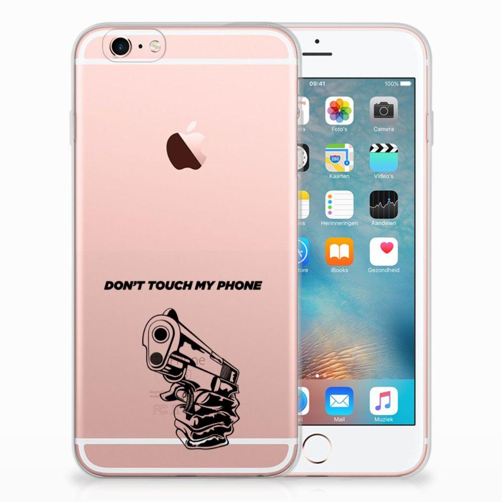 Apple iPhone 6 | 6s Uniek TPU Hoesje Gun DTMP