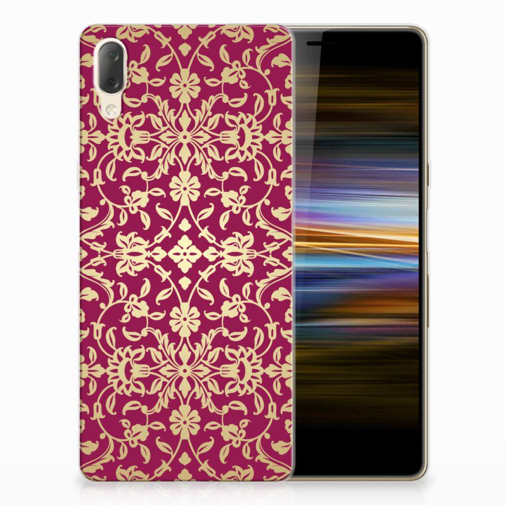 Siliconen Hoesje Sony Xperia L3 Barok Pink