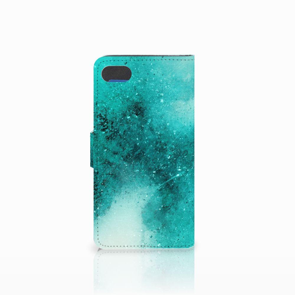 Hoesje Huawei Y5 2018 Painting Blue