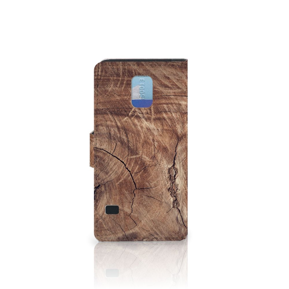 Samsung Galaxy S5 | S5 Neo Book Style Case Tree Trunk