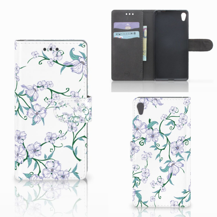 Sony Xperia E5 Uniek Hoesje Blossom White