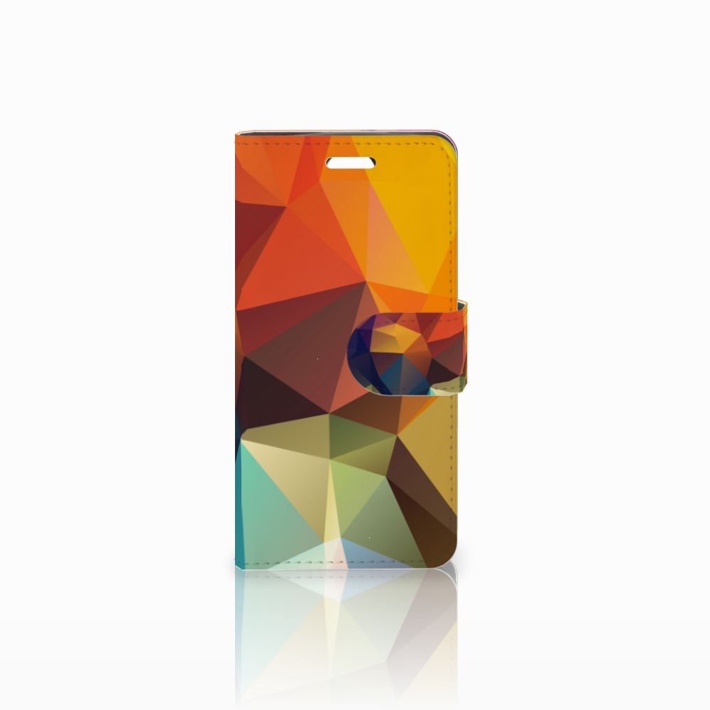 Acer Liquid Z330 Boekhoesje Design Polygon Color