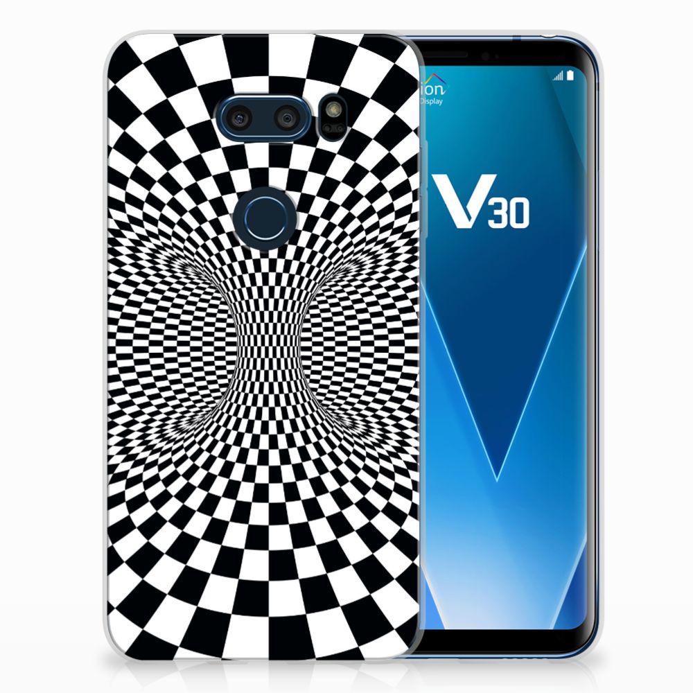 LG V30 TPU Hoesje Design Illusie