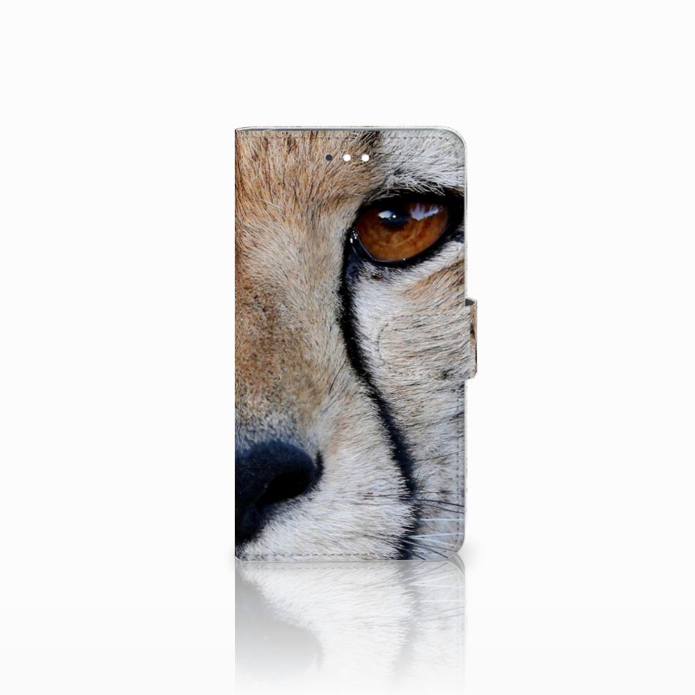 Huawei Ascend G7 Telefoonhoesje met Pasjes Cheetah