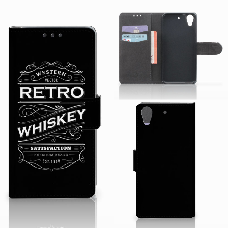 HTC Desire 626 | Desire 626s Book Cover Whiskey